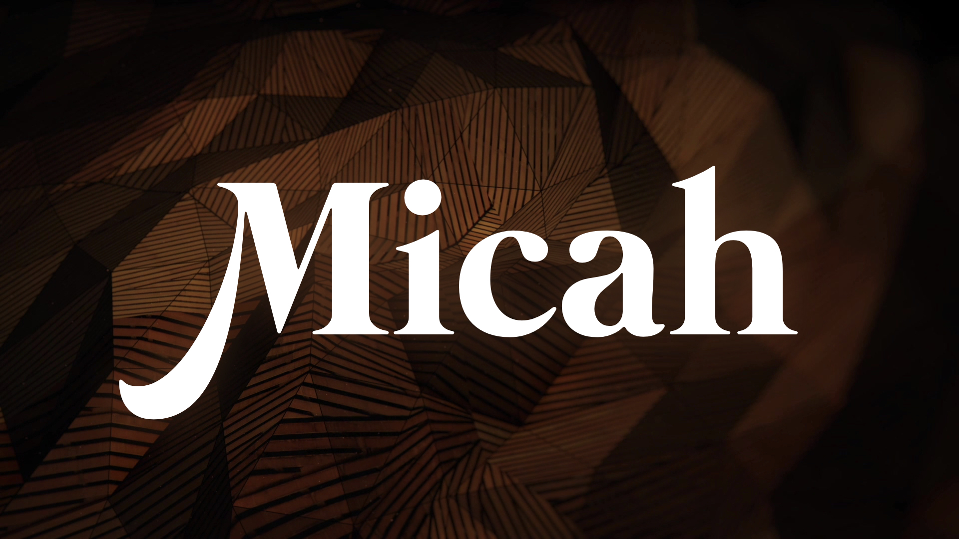Micah – Chapter 7